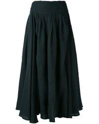 Black Crane | Wrap Skirt | Lyst