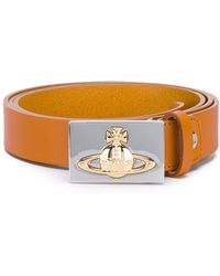 Vivienne Westwood Red Label - Logo Embossed Belt - Lyst