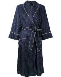 Erika Cavallini Semi Couture - Piped Polka Dot Pyjama Dress - Lyst