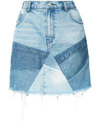 PRPS - Patchwork Skirt - Lyst