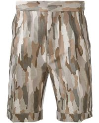 Cerruti 1881 - Camouflage Shorts - Lyst