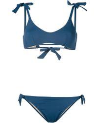 Emmanuela Swimwear - Tie Side Bikini - Lyst
