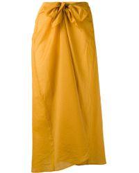 Diega - Tie Waist Skirt - Lyst