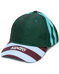 KENZO - Hyper Striped Baseball Cap - Lyst