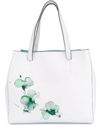 Fratelli Rossetti - Watercolour Floral Shoulder Bag - Lyst