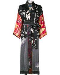 Rianna + Nina - Floral Rope Print Kimono - Lyst