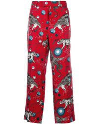 Gucci - Printed Pyjama Trousers - Lyst