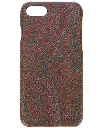 Etro - Baroque Pattern Iphone 7 Case - Lyst