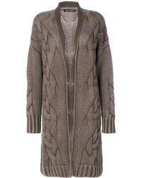 Iris Von Arnim - Textured Knit Cardi-coat - Lyst