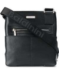 Baldinini Zipped Shoulder Bag - Black