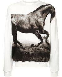 Yoshio Kubo - Horse Print Sweatshirt - Lyst