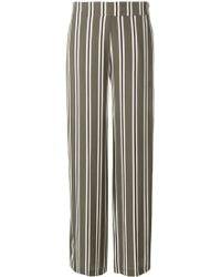 Libertine-Libertine - Striped Wide-leg Trousers - Lyst
