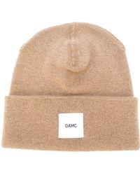 OAMC - Cashmere Logo Beanie - Lyst