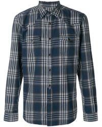 Hydrogen - Plaid Classic Shirt - Lyst