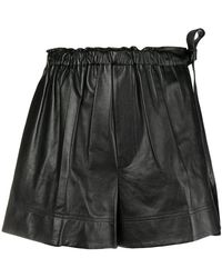 Helmut Lang - Shorts mit Paperbag-Taille - Lyst