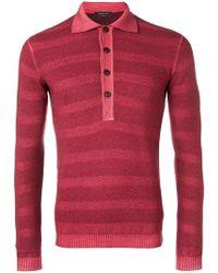 Gabriele Pasini - Buttoned Sweater - Lyst