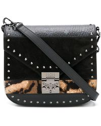 MCM - Medium Patricia Shoulder Bag - Lyst