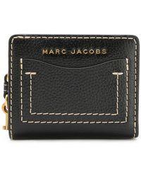 Marc Jacobs - Portafoglio The Grind mini - Lyst