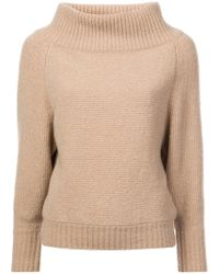 Sally Lapointe - High Neck Jumper - Lyst