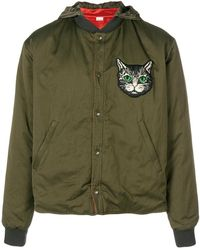 Gucci - Cat-embroidered Bomber Jacket - Lyst