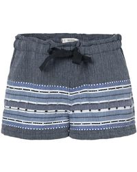 lemlem - Embroidered Details Shorts - Lyst