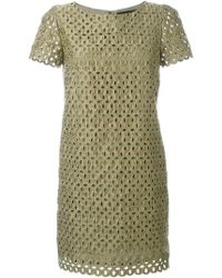 Marco Bologna - Lace Cut Out Dress - Lyst