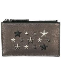 Jimmy Choo - Camelot Star Studded Wallet - Lyst