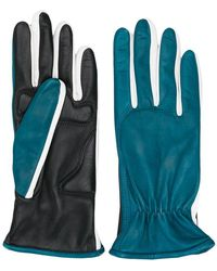 Sportmax - Two-faced Leather Gloves - Lyst