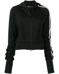 b01d6d0f8550 Y-3 - Zip-front Sports Jacket - Lyst