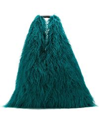 MM6 by Maison Martin Margiela - Faux-fur Shoulder Bag - Lyst