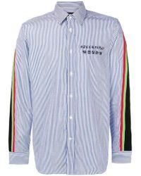 DIESEL - Contrast Stripe Shirt - Lyst