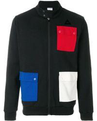 Le Coq Sportif - Jacket With Multicolour Patch Pockets - Lyst