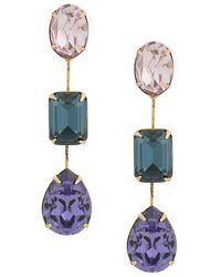 Jennifer Behr - Multicoloured Drop Earrings - Lyst