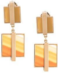 Crystalline - Jasper & Agate Clip-on Earrings - Lyst