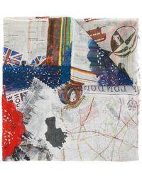 Faliero Sarti - London Printed Scarf - Lyst
