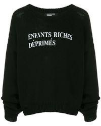 Enfants Riches Deprimes - Classique Logo Sweater - Lyst