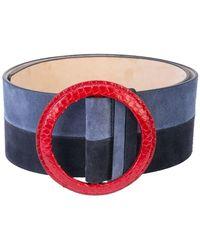 Lyst - Cinturón clásico Carolina Herrera de color Negro e58b0181e784