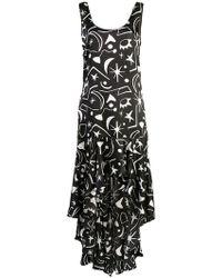 Onia - Asymmetric Maxi Dress - Lyst
