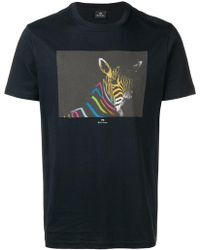 PS by Paul Smith - Print T-shirt - Lyst