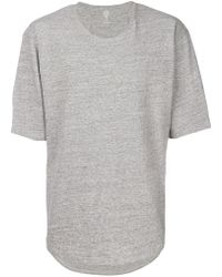 Eleventy - Oversized T-shirt - Lyst