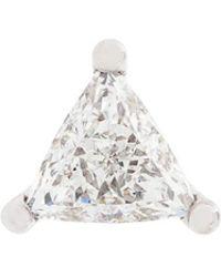 Delfina Delettrez - Dots Solitaire Diamond Earring - Lyst