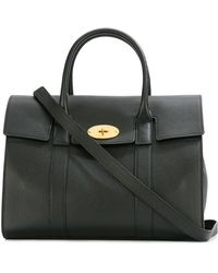 Mulberry - Fold-over Closure Tote - Lyst