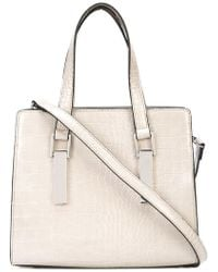 Christian Siriano - Crocodile-embossed Tote Bag - Lyst