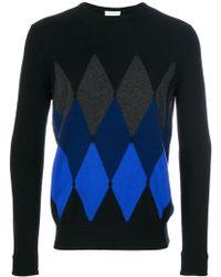 Ballantyne - Diamond Knit Cashmere Jumper - Lyst