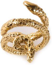 Aurelie Bidermann - 'asclepios' Ring - Lyst