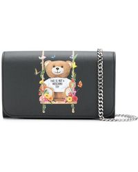 Moschino - Toy Bear Chain Wallet - Lyst