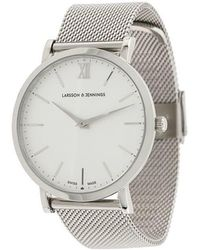 Larsson & Jennings - Ljxii Lugano Milanese 40mm Watch - Lyst