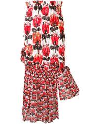 Tsumori Chisato - Asymmetric High-waisted Skirt - Lyst