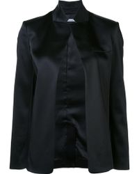 T By Alexander Wang - Open Front Jacket - Lyst