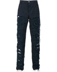 Hood By Air - Pantalones con efecto envejecido - Lyst